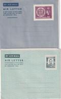 RODHESIE DU SUD     ENTIER POSTAL/GANZSACHE/POSTAL STATIONERY LOT DE 2 PLIS AERIENS - Southern Rhodesia (...-1964)
