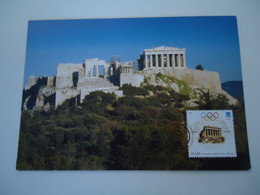GREECE  MAXIMUM  CARDS  2004  OLYMPIC GAMES ATHENS  BEIIJING CHINA - Zomer 2004: Athene