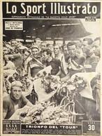 Settimanale - Lo Sport Illustrato N. 30 - Giro Di Francia: Trionfo Del Tour 1949 - Altri