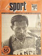 Settimanale Sportivo A Colori Di Emilio De Martino - Lo Sport N. 9 - 1951 - Altri