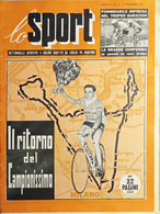 Settimanale Sportivo A Colori Di Emilio De Martino - Lo Sport N. 12 - 1954 - Altri