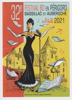PROGRAMME 15CM*21CM  JOSÉPHINE BAKER   CHATEAU DES MILANDES   32e FESTIVAL  BASSILLAC  BD  EN PÉRIGORD - Programs