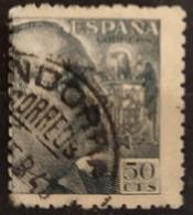 FRANCO FECHADOR ANDORRA. USADO. - 1931-50 Usati