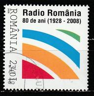 2008 -  Radio Roumanie Mi No 6332 - Usati