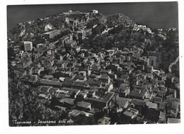 11.531 - TAORMINA MESSINA PANORAMA DALL' ALTO 1957 - Altre Città
