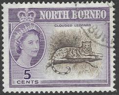North Borneo. 1961 QEII. 5c Used SG 393 - North Borneo (...-1963)