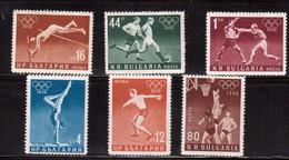 Bulgaria-1956,(Mi.996-1001),Sport,Olympic, Football, Soccer, Fussball,calcio,MNH - Altri