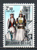 BELGIQUE. N°1593 De 1971. Géants D'Ath. - Carnevale