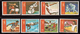 Guinea Equ.-1978,(Mi.1288-1295),Sport,Olympic,Football, Soccer, Fussball,calcio,MNH - Altri
