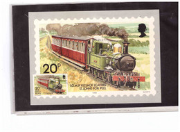 TEM15149  -   ISLE O FMAN  21.9.1988   /   FDC  4  MAX,CARDS   MICHEL NR.  381/384 - Treni