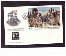 TEM15164  -   ISLE OF MAN   22.5.1992    /   FDC     MICHEL NR.  BL.  17 - Treni