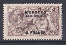 MAROC  Marocco Agencies 1907    N ° 10  Zone Francaise  3fr  Neuf ** MNH - Morocco Agencies / Tangier (...-1958)