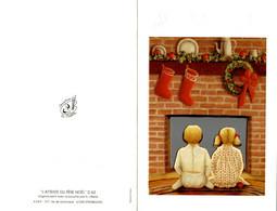 CPM L'attente Du Père Noël - Double - Non Classificati