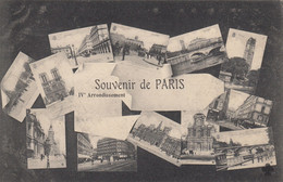 SOUVENIR DE PARIS  IV Arrondissement - Panorama's
