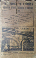 Telefonen - Téléphones - Telefoonboek - Indicateur Officiel : 1924 - = De 2 Edities En Een Supplement - Genealogie - Storia