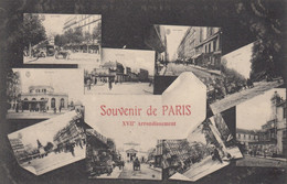 SOUVENIR DE PARIS XVII Arrondissement - Panorama's