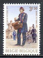 BELGIQUE. N°1577 De 1971. Journée Du Timbre/Facteur. - Posta