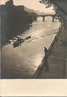 PARIS  -  La Seine, Quai De Montebello.  (scan Verso) - Die Seine Und Ihre Ufer