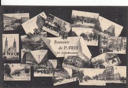 SOUVENIR DE PARIS XI Arrondissement - Panorama's