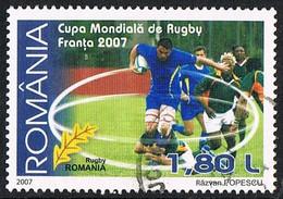 2007 - ROMANIA - COPPA DEL MONDO DI RUGBY / RUGBY WORLD CUP. USATO - Usati