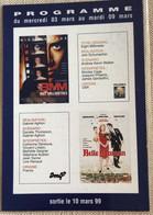 Cinema Pathe Wepler Paris 1999 -belle Maman 8 Millimetres - Manifesti Su Carta