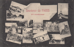SOUVENIR DE PARIS XVI Arrondissement - Panorama's