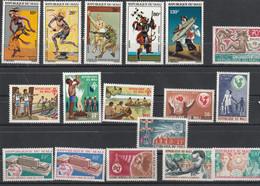 Mali - Lot Collection 17 Timbres **  - Entre 1967 Et 1972 - Mali (1959-...)