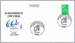 60 Aniversario De ISRAEL - 60 Years Of ISRAEL. Paris 2008 - Guidaismo