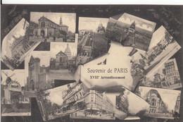 SOUVENIR DE PARIS XVIII Arrondissement - Panorama's
