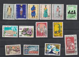 Mali - Lot Collection 14 Timbres **  - Entre 1966 Et 1973 - Mali (1959-...)