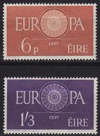 IRLAND IRELAND [1960] MiNr 0146-47 ( */mh ) [01] CEPT - Usati