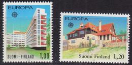 FINLAND SOUMI [1978] MiNr 0825-26 ( **/mnh ) CEPT - Ungebraucht