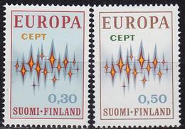 FINLAND SOUMI [1972] MiNr 0700-01 ( **/mnh ) CEPT - Ungebraucht