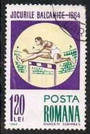 1964 - ROMANIA - GIOCHI DEI BALCANI / BALKAN GAMES. USATO - Usati