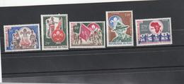 Mali - Yvert PA Série 182 à 186  **  - Scoutisme - Mali (1959-...)