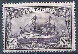 Kaiserjacht 36A, 1 1/2 Dollar, Grauviolett *        1905 - Kolonie: Kiautschou