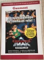 Cinema Gaumont Imax Montpellier Ecran Geant Hauteur 6 Etages - Manifesti Su Carta