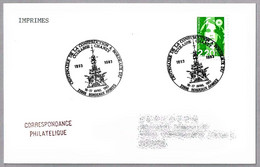 100 Años De La Construccion Del CRUCERO CHANZY. Bordeaux 1993 - Militaria