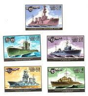 1982 - Russia 4945/49 Marina Da Guerra - Militaria