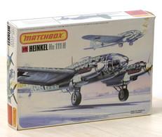 Modellismo Aereo - Matchbox Heinkel He 111H Model Kit 1-72 - 1983 - Aerei E Elicotteri