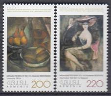 ARMENIA 492-493,unused,painting - Non Classificati