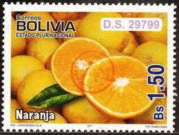 Bolivia 2018 **  CEFIBOL 2374A  (2011 #2085) Export Fruits: Oranges, Authorized For The Bolivian Post Office. - Bolivia