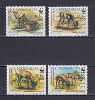SOMALIA 1992, Mi# 436-439, Part Set, WWF, Animals, MNH - Somalië (1960-...)
