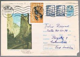 Romania, 1968, For Bogota - Lettere