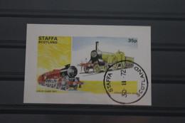Staffa, Schottland, Eisenbahn, 1972, Gestempelt - Treni