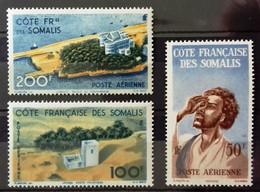 Côte Française Des Somalis, Poste Aérienne, Timbres Neufs * * (MNH), Numéro 20, 21, 22 (Yvert Et Tellier) - Nuovi