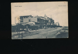 CPA - Egypte - Port Said - Vue Du Quai - Port Said