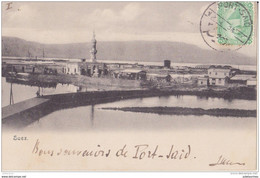 EGYPTE PORT SAID SUEZ CPA 1905 BON ÉTAT - Port Said