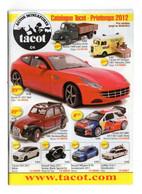 Catalogue Tacot 2012 Vehicules Miniatures Toutes Echelles -  Tout En Couleur - 30 Pages 10,5 X 15cm - Cataloghi