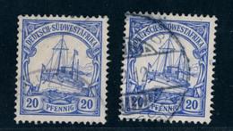 Deutsche Kolonien Deutsch-Südwestafrika Michel Nummer 27 Lot Gestempelt - Colony: German South West Africa